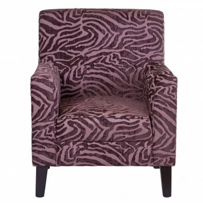 Purple Luxe Chair