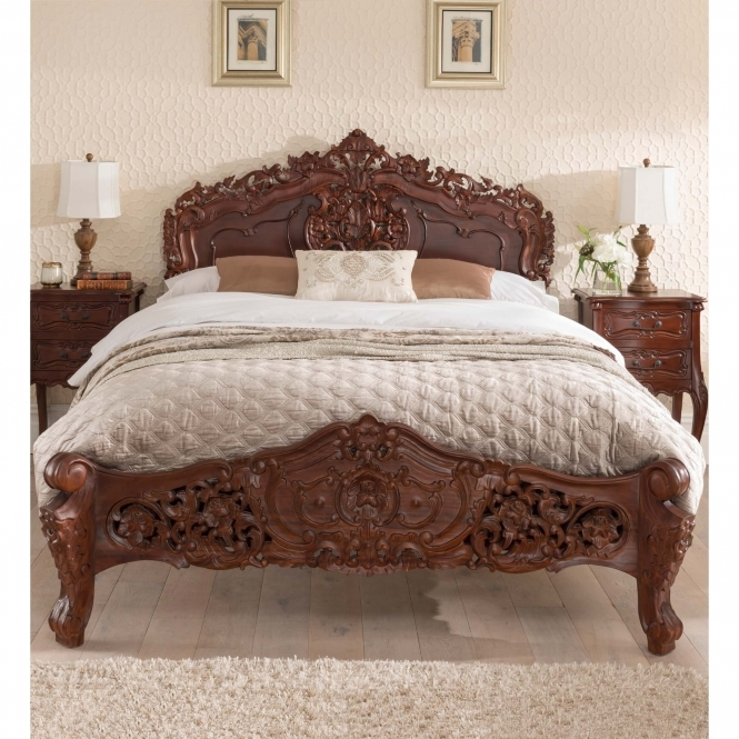 Raphael Antique French Style Bed