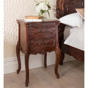 Raphael Antique French Style Bedside Table