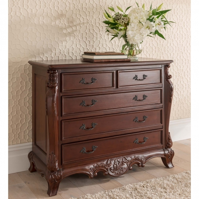 Raphael Antique French Style Chest of Drawers