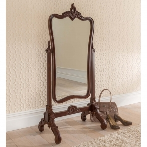 Raphael Antique French Style Cheval Mirror