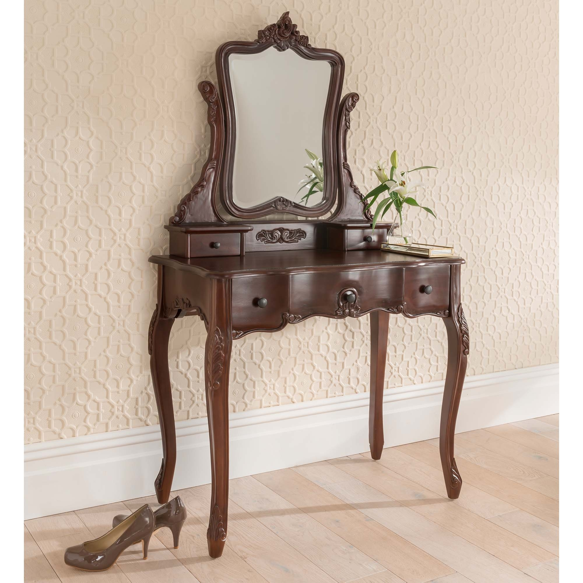 French furniture uk - Raphael Antique French Style Dressing Table