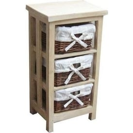Rattan Antique French Style Drawer