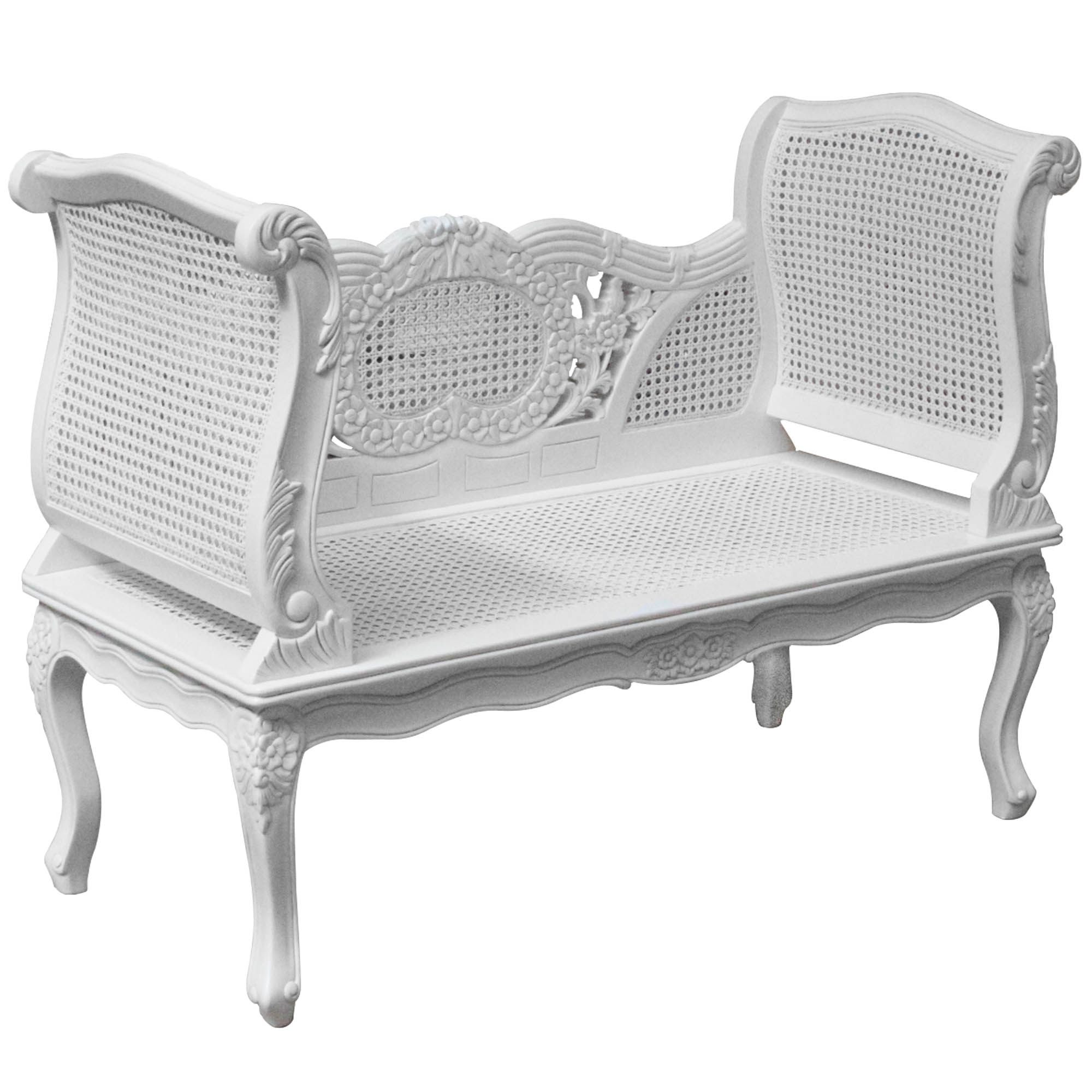 Rattan Antique French Style Sofa French Furniture From