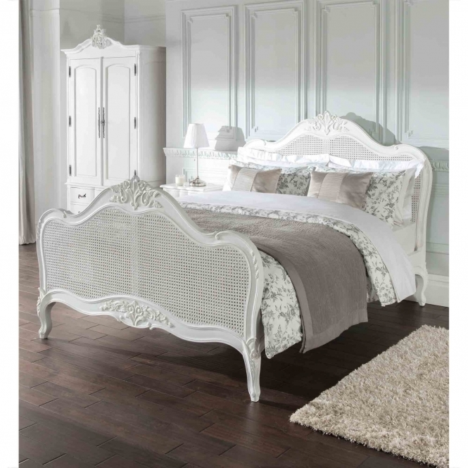 Rattan Estelle Antique French Style Bed