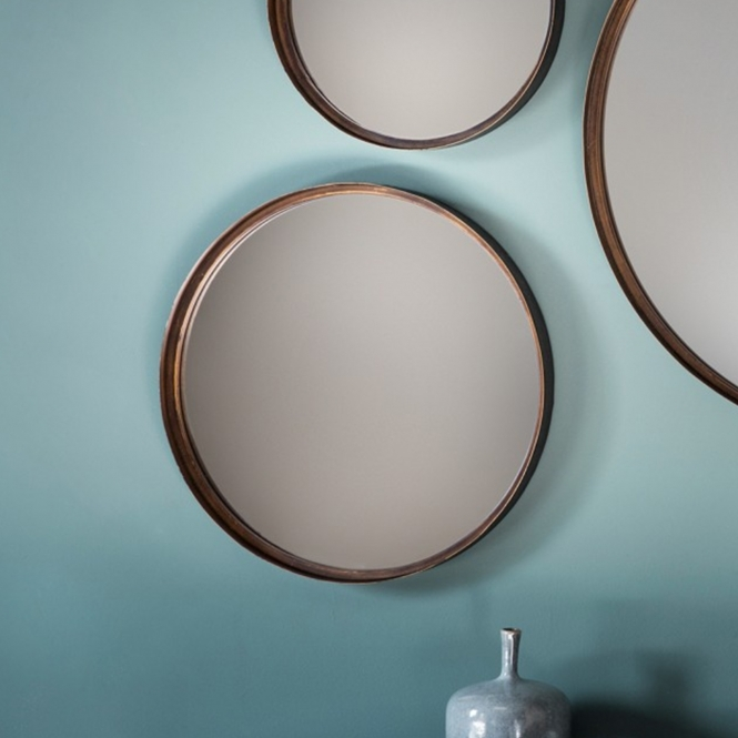 Reading Medium Round Mirror (4 pack)