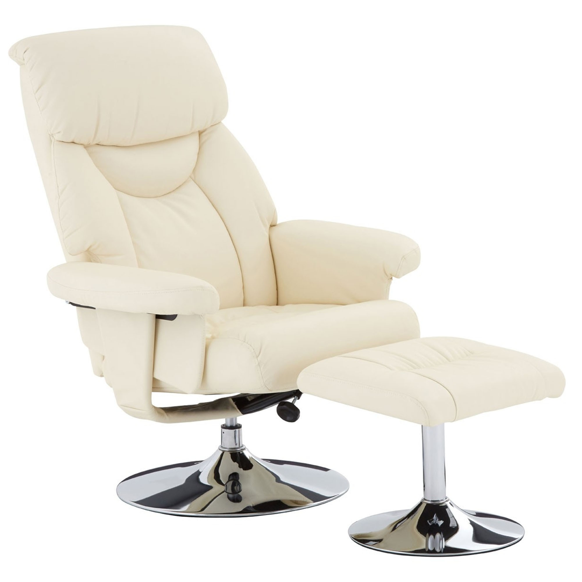 Recliner Chair With Footstool