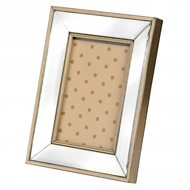 Rectangle Mirrored Photo Frame