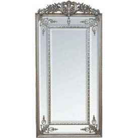 Rectangular Antique French Style Mirror
