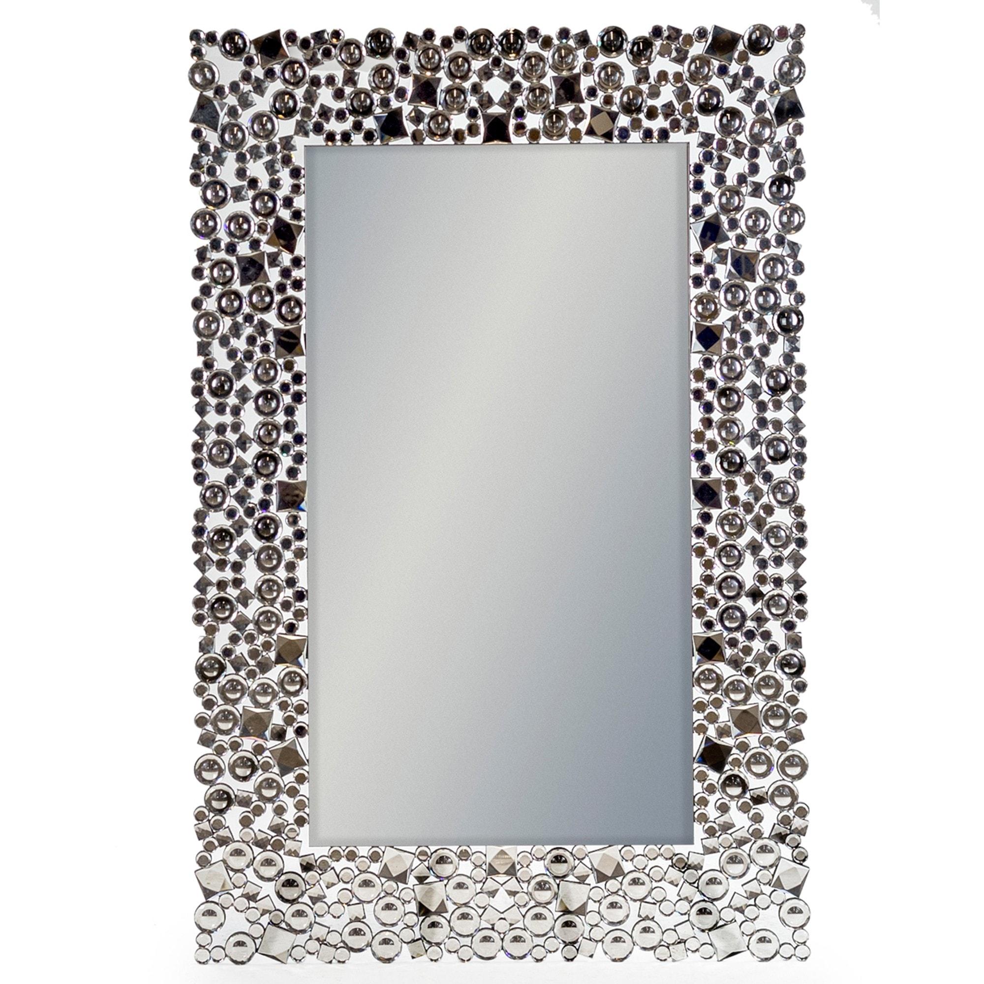 Rectangular Glitz Venetian French Mirrors Venetian Mirrors