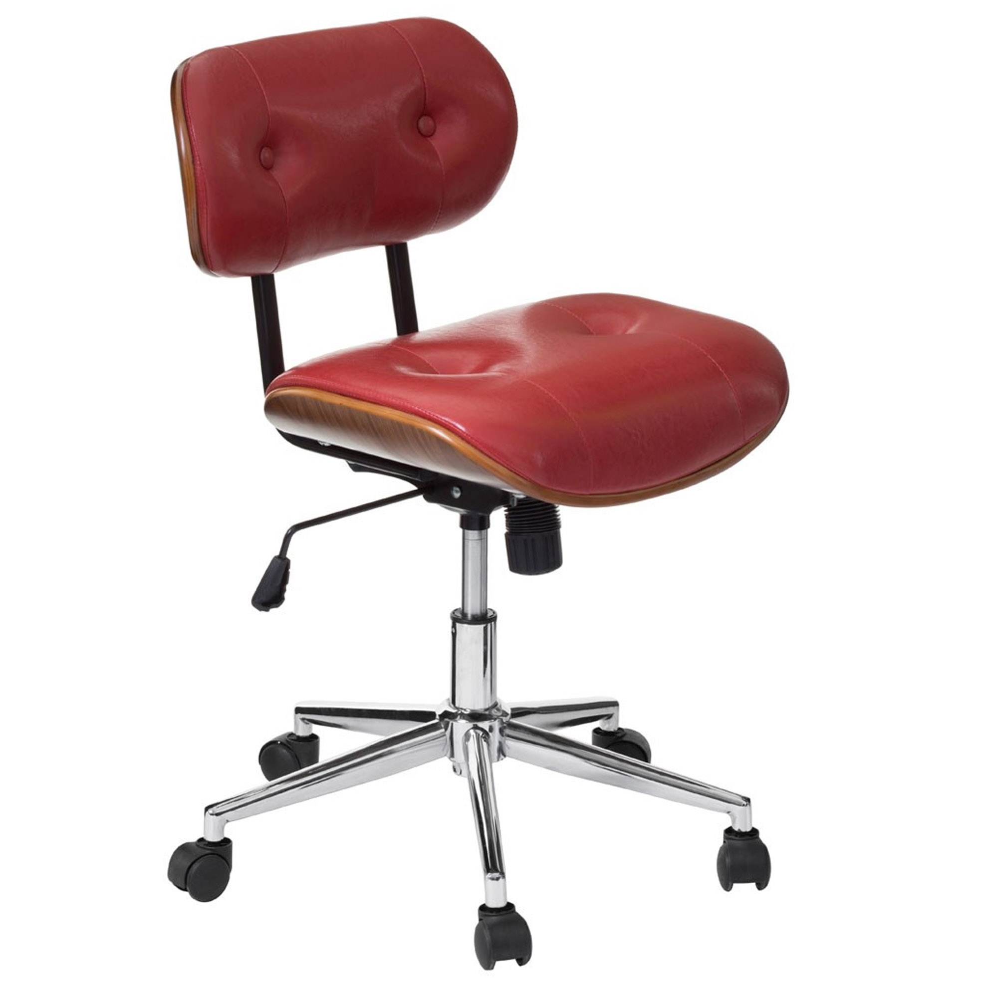 executive products collection back chair leather high office premium bikey red