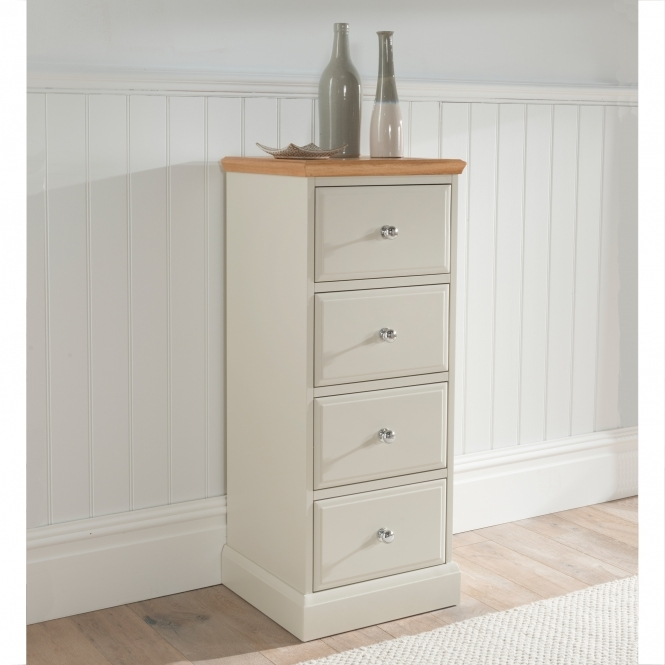 Remi Shabby Chic Tallboy Chest