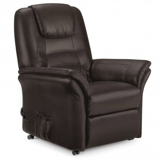 Riva Rise & Recline Chair Brown