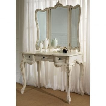la rochelle antique french dressing table small. Black Bedroom Furniture Sets. Home Design Ideas