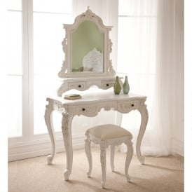 Rococo Antique French Dressing Table Set