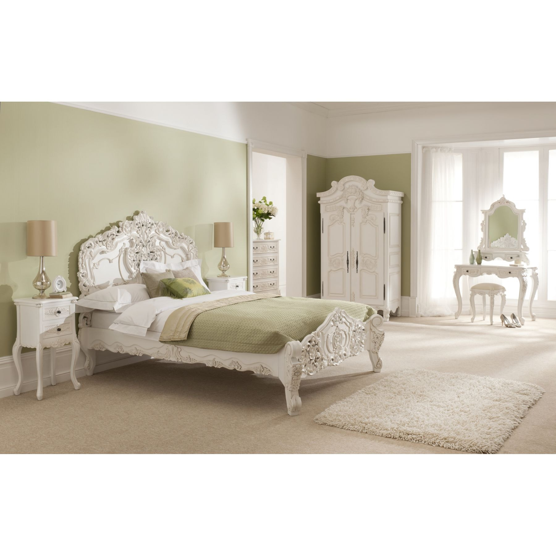 Fine Rococo Antique French Style Bed Best Image Libraries Sapebelowcountryjoecom