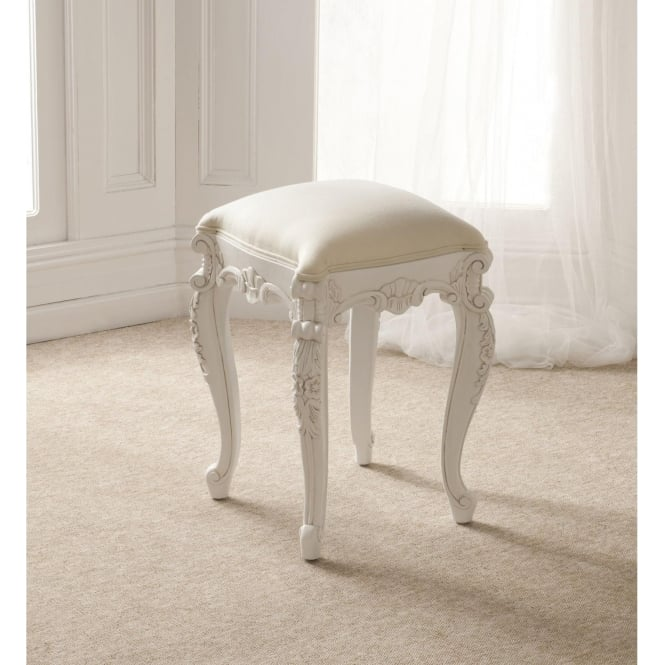 Rococo Antique French Style Stool