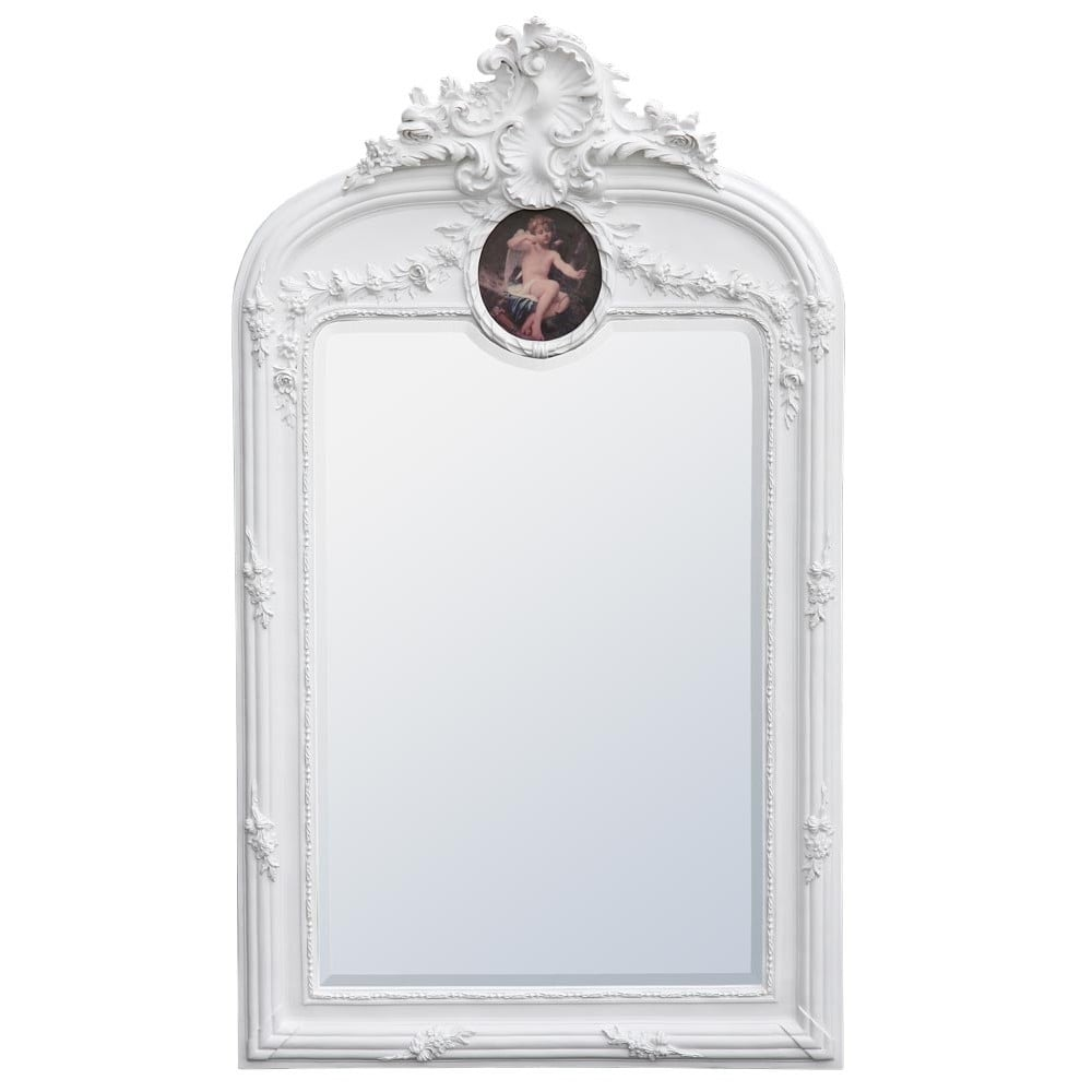 Rococo Antique French Style Wall Mirror