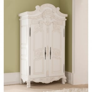 Rococo Antique French Wardrobe (Size: Large)