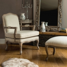 Rococo Chair & Footstool