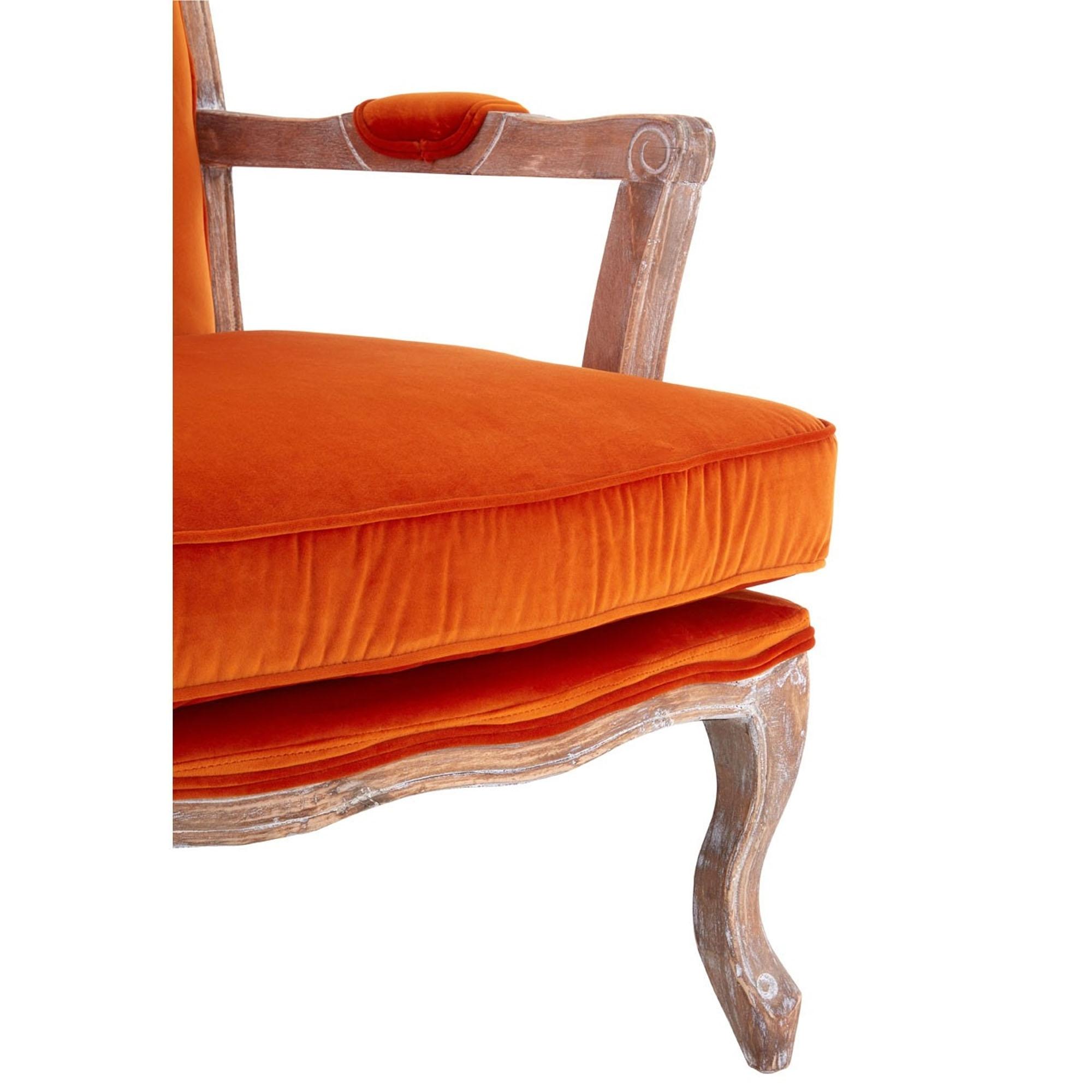 Rococo Chair U0026amp; Footstool