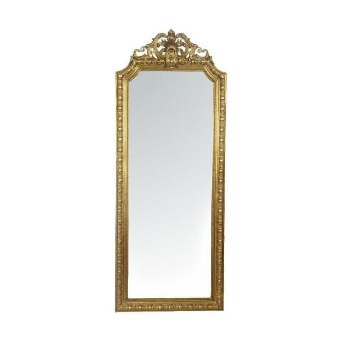 Rococo Gold Antique French Style Mirror