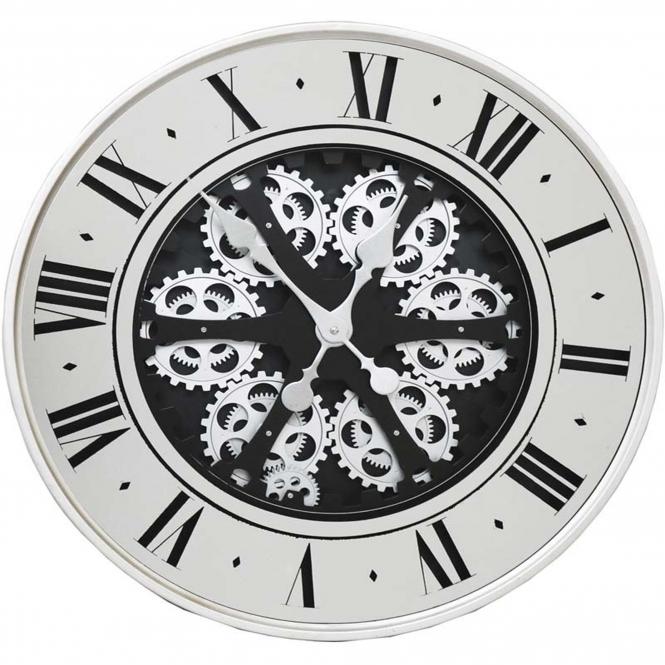 Roman Numeral Round Clog Wall Clock Wall Clock Home