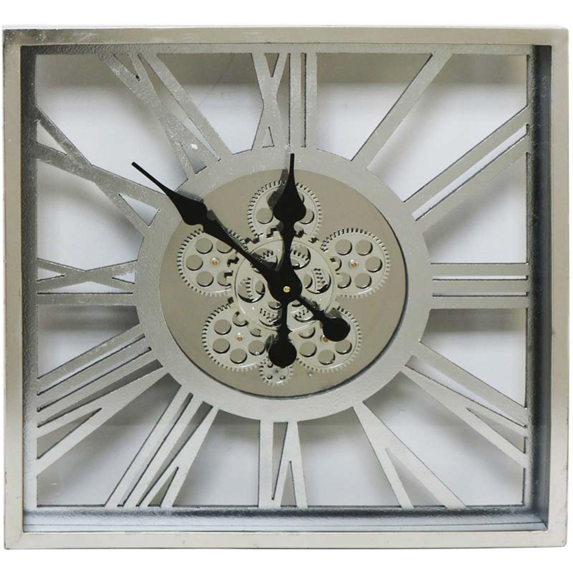 Roman Numeral Square Clog Wall Clock Wall Clock Home