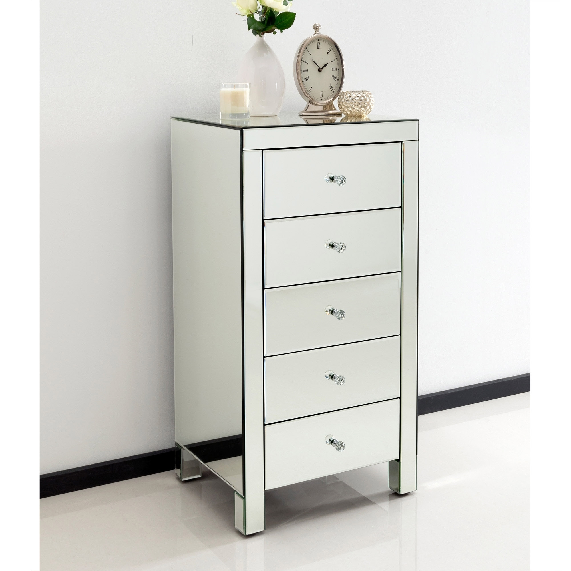 Mirrored Bedroom Furniture Uk Romano Crystal Mirrored Bedroom Furniture Homesdirect