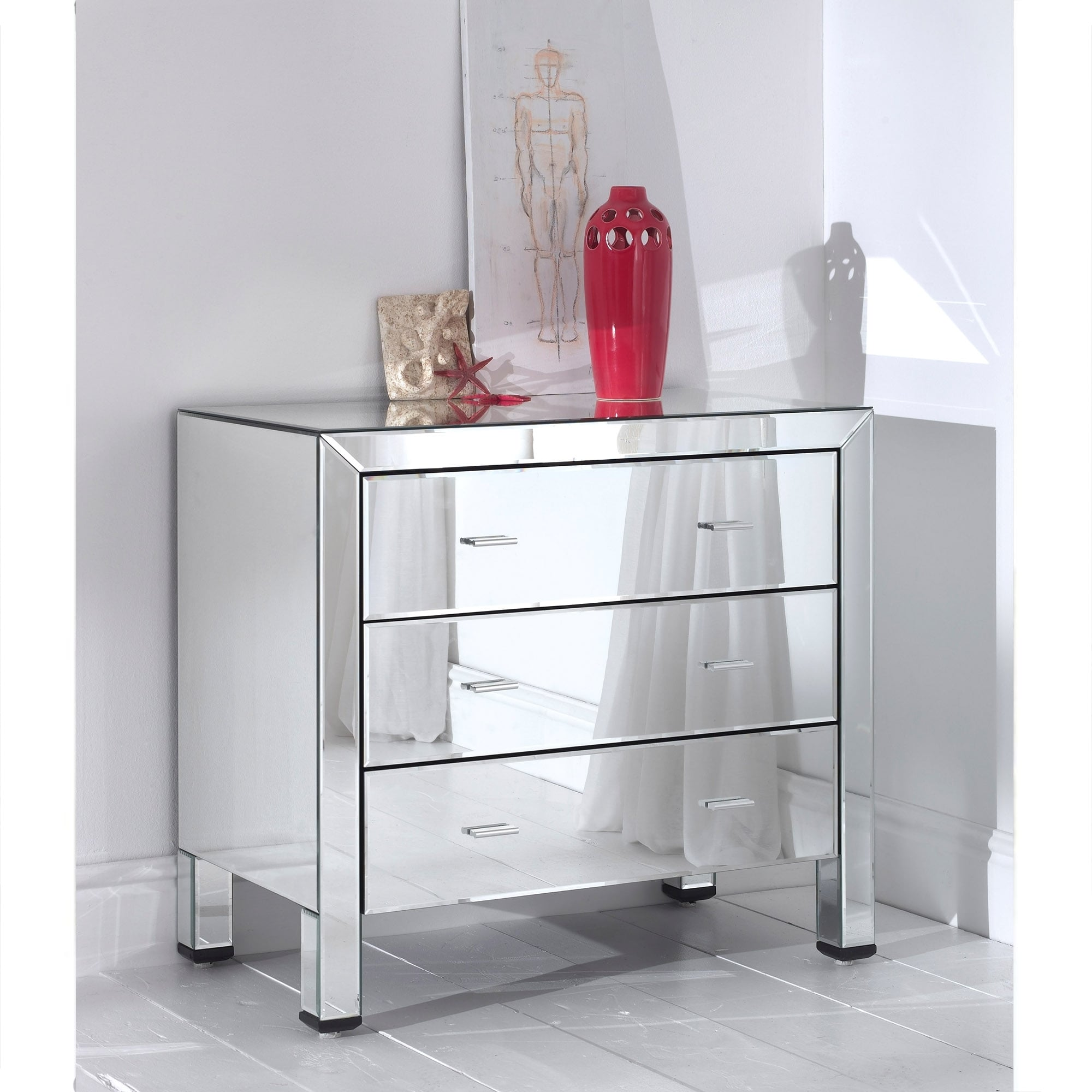 asp of overlay discoveries with drawers drawer chest w mirrored