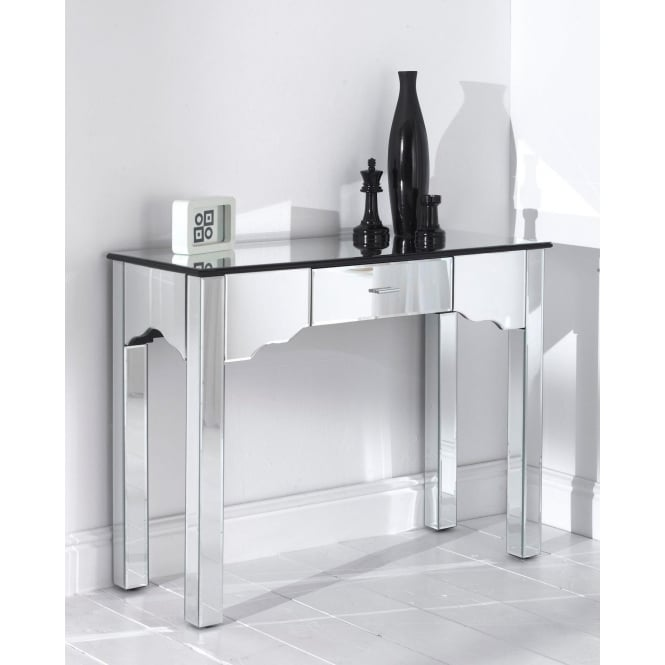 Mirrored Romano Console Table