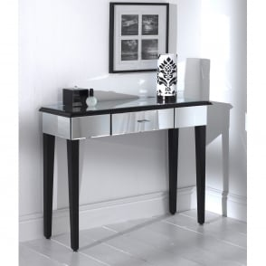 Romano Mirrored Console Table