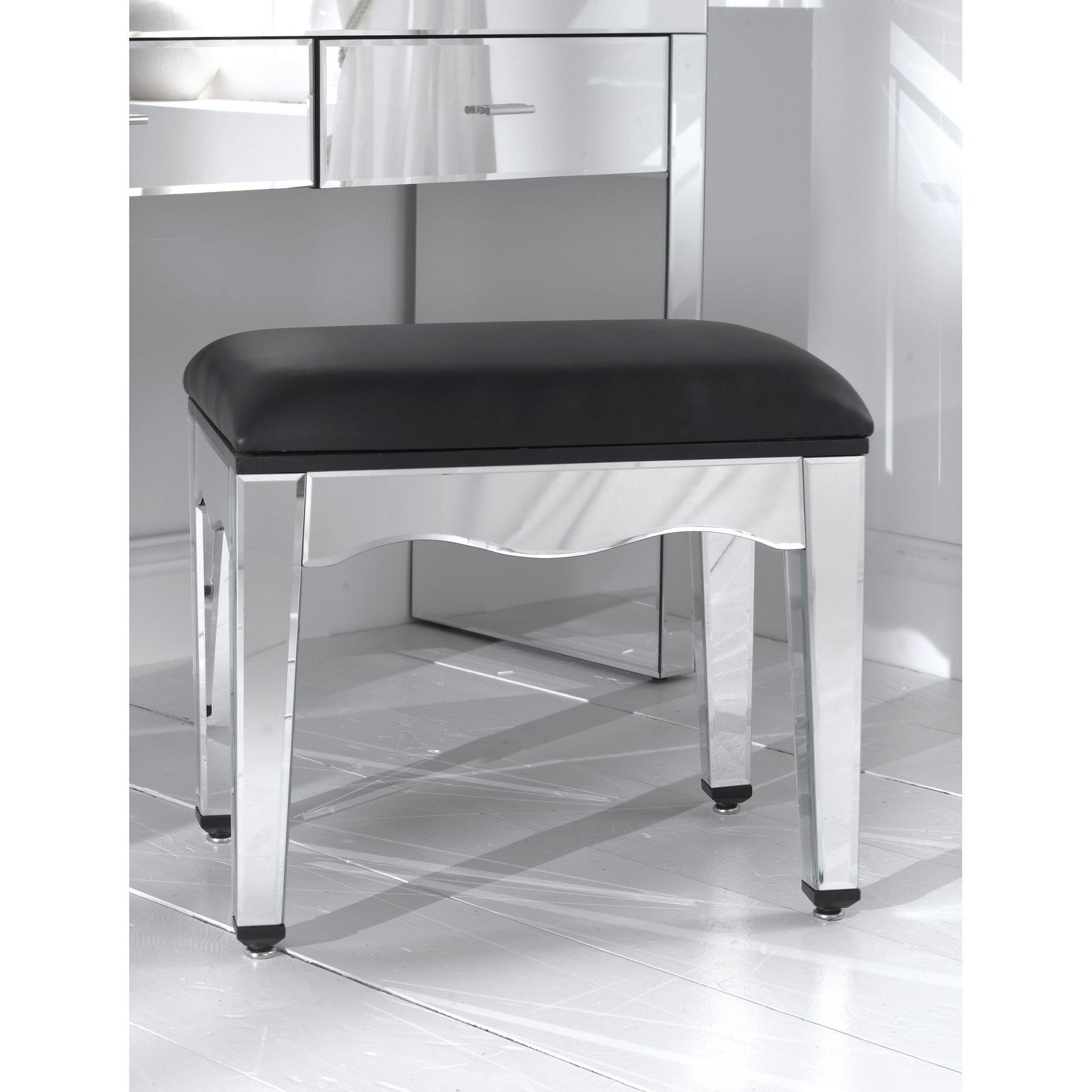 Romano Mirrored Console Table Set