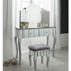 Rome Mirrored Dressing Table Set