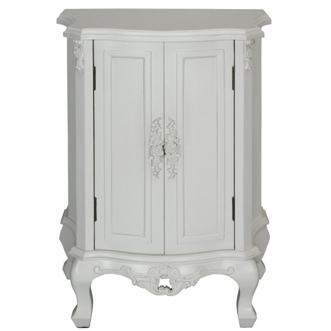 Rose Antique French Style Cupboard