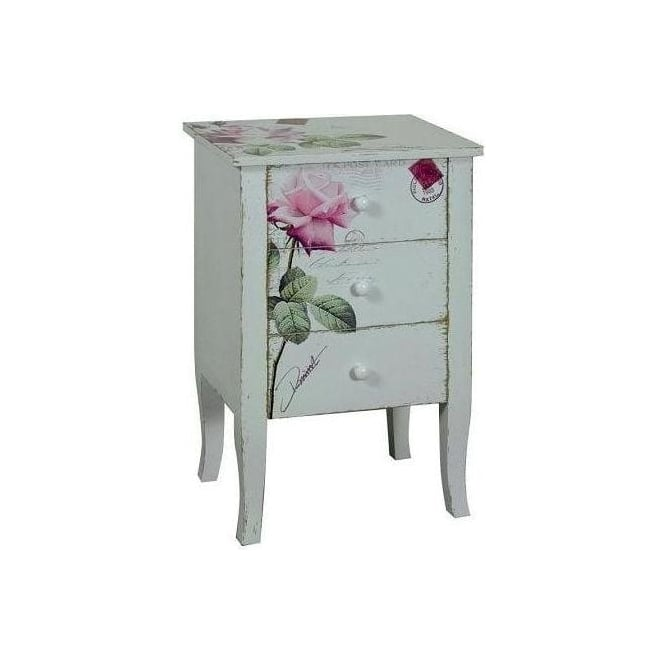 Rose Shabby Chic Cabinet