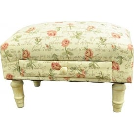 Roses Design Footstool