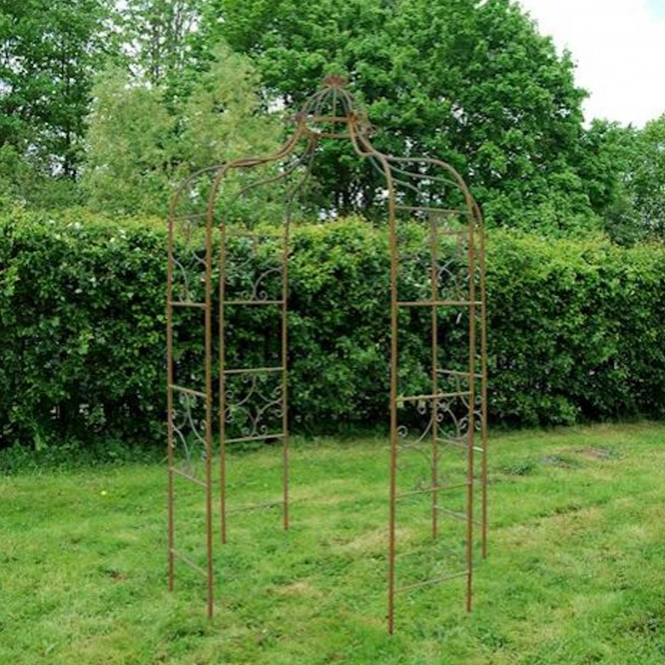Rust Antique French Style Gazebo