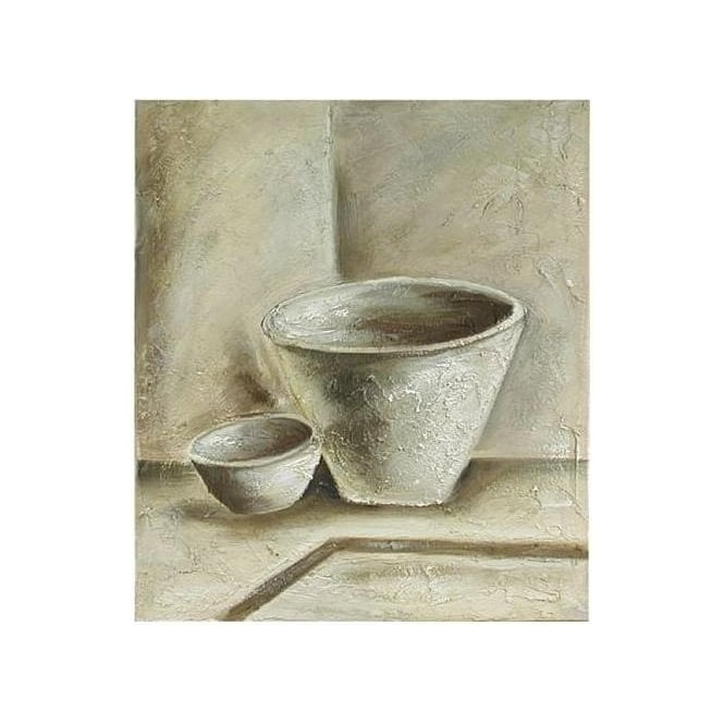 Rustic Bowls Painting