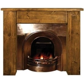 Rustic Fireplace Surround