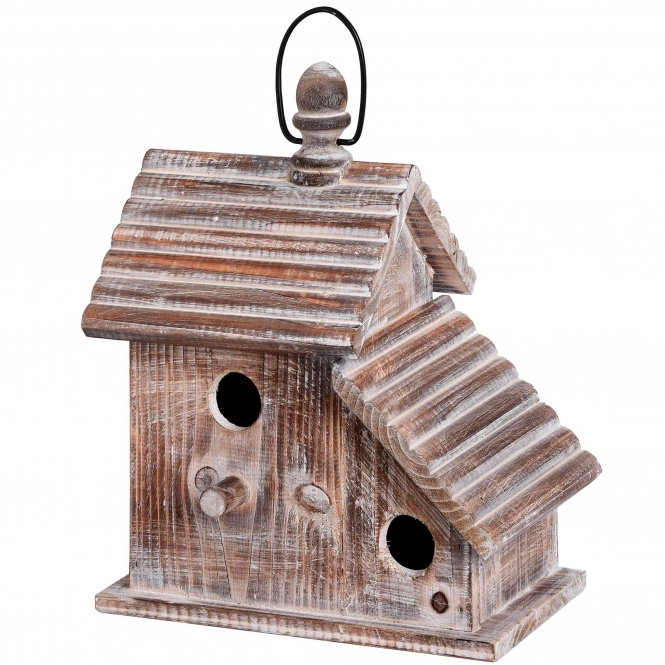 Rustic Hanging Bird House