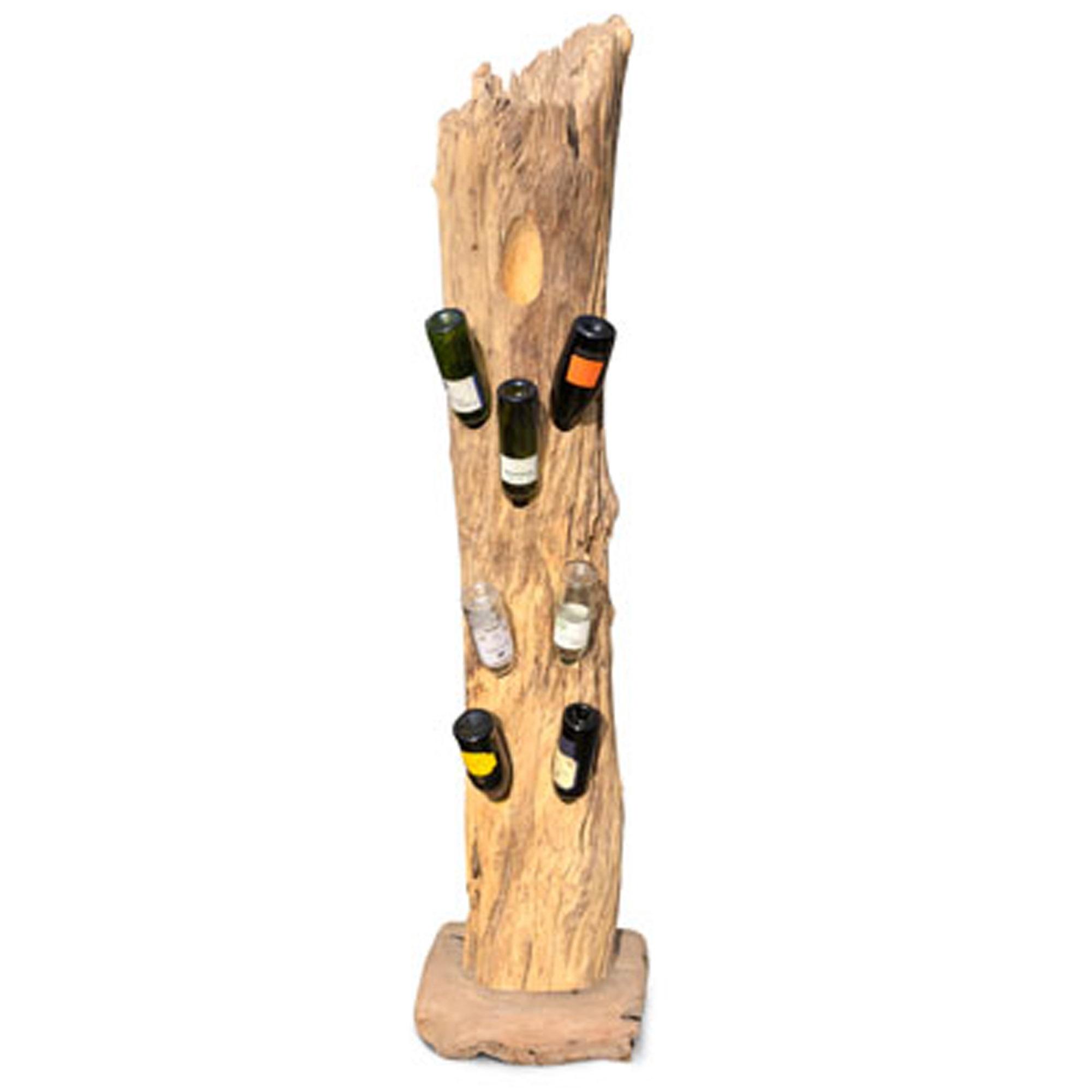5b048f9a55 Rustic Java Wood Large Wine Rack | Modern Wine Racks | HomesDirect365