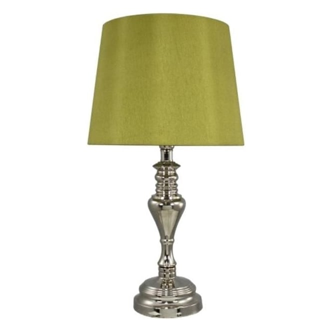 Sandringham Chrome Table Lamp