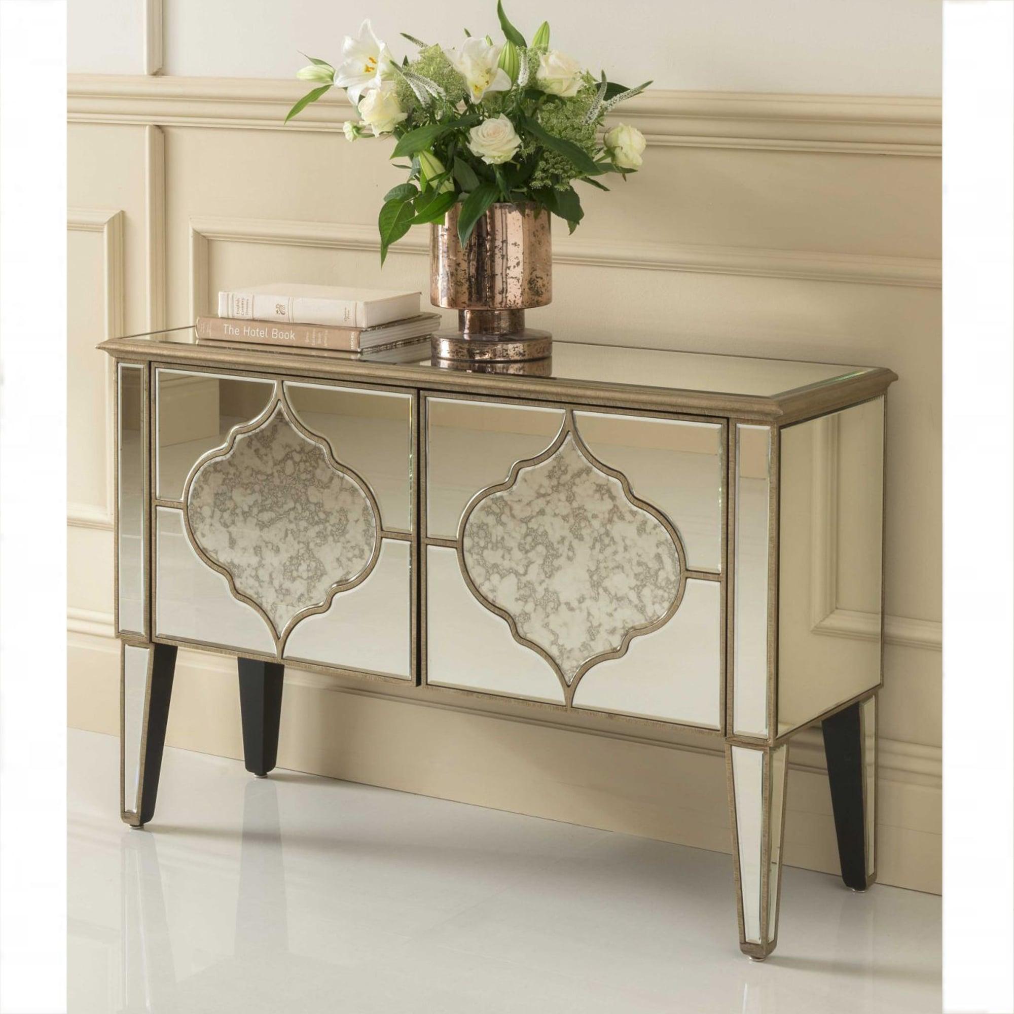 Sassari Mirrored Cabinet Venetian Glass Furniture