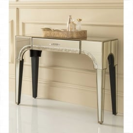 Sassari Mirrored Console Table