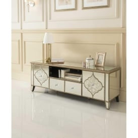 Sassari Mirrored TV Cabinet