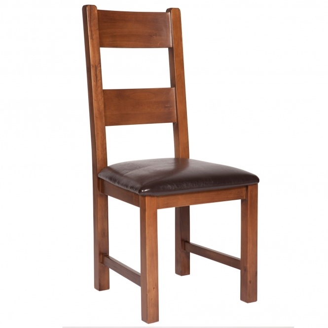 Seattle Set of 2 Ladder Back Chairs