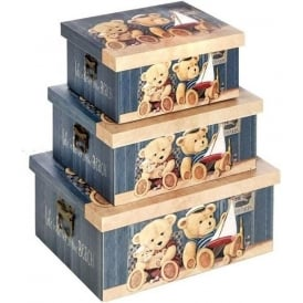 Set 3 Teddy Bear Boxes
