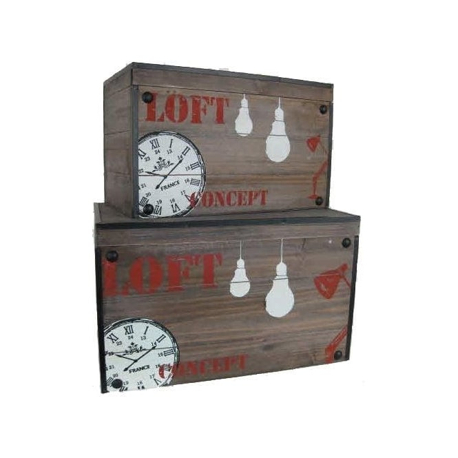 Set Of 2 Storage Trunks