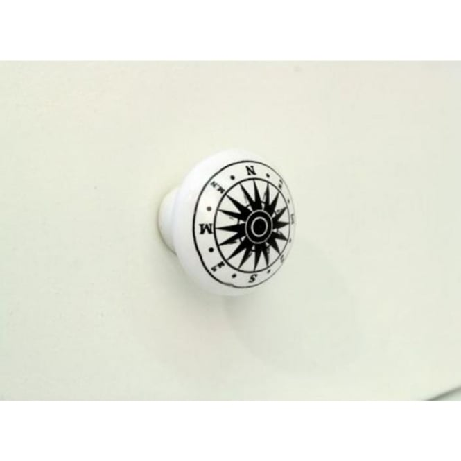 Set Of 4 Compass Drawer Knobs